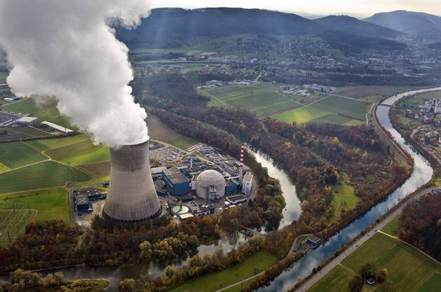 Der Betrieb des Kernkraftwerks Gösgen wurde 1979 aufgenommen.