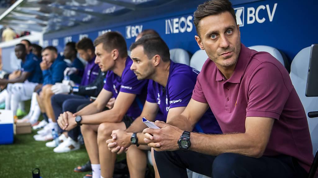 Lausannes Trainer Ilija Borenovic erhält einen neuen Stürmer