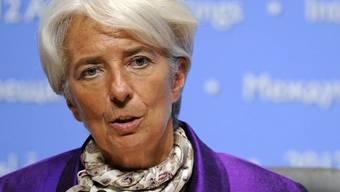 IWF-Chefin Christine Lagarde (Archiv)