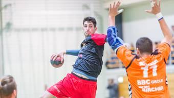 Cupspiel Handball Wohlen - Kadetten Schaffhausen 21:39