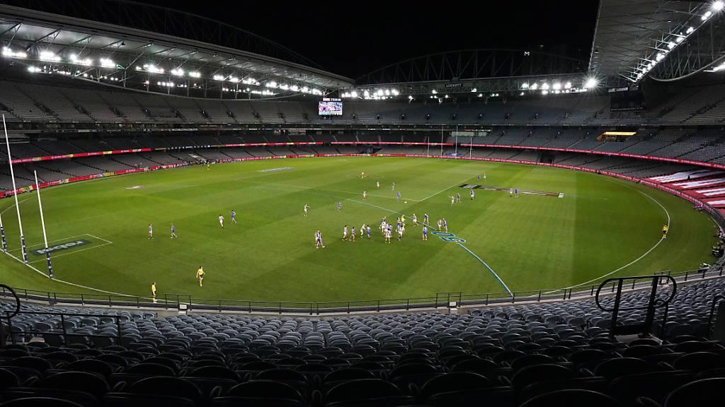 Populärste Sportliga Australiens bis Ende Mai unterbrochen