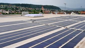 Gegenstand von Rendite-Diskussionen: Solarzellen in Niedergösgen. (Adriana Gubler)