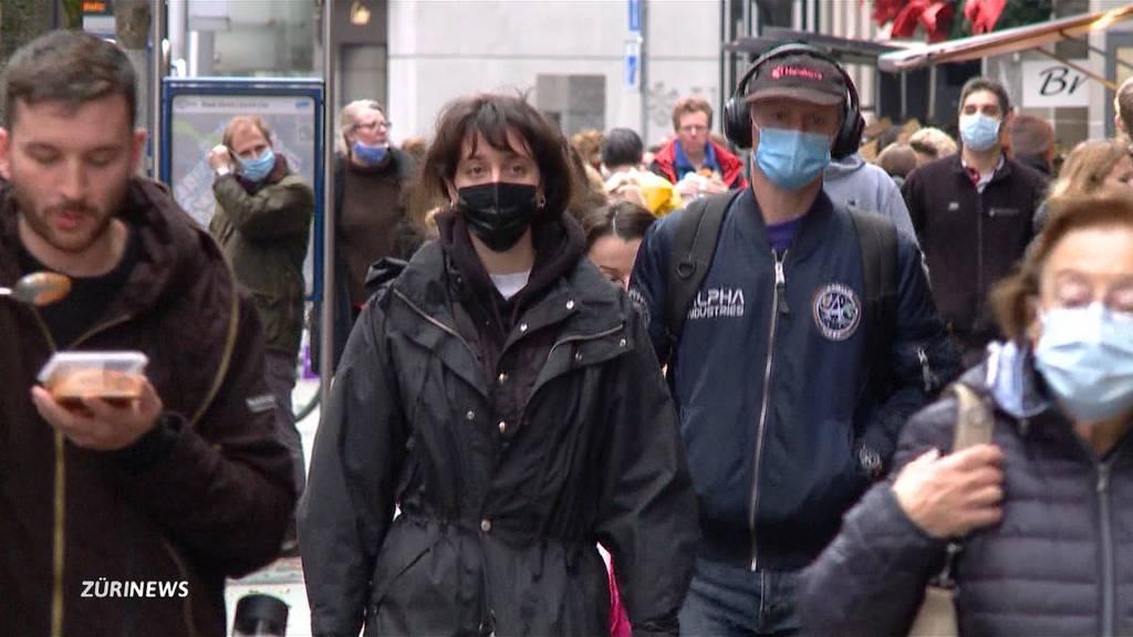 So gut halten sich die Zürcher an die Maskenpflicht im Freien