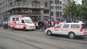 Polizeieinsatz in Zürich nach Nati-Spiel