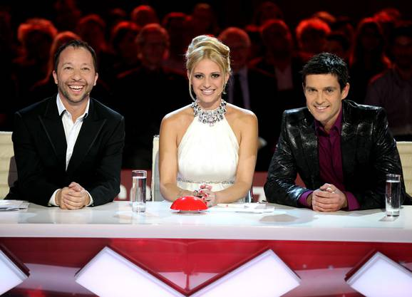 Die Jury: DJ BoBo, Christa Rigozzi und Roman Kilchsperger