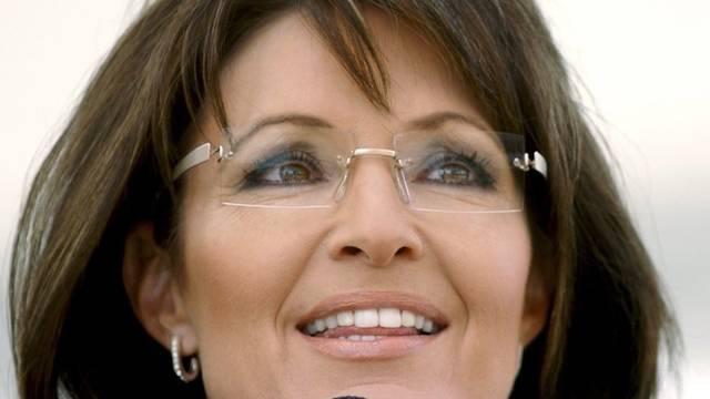 Kann sich gut vorstellen, die erste Frau im Präsidentenamt zu werden: Sarah Palin (Archiv)