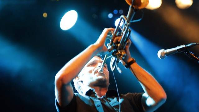 """Die Gruppe """"Capillary Action"""" bei ihrem Auftritt am Jazz Festival Willisau"""