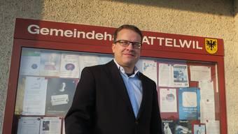 Roger Lehner war acht Jahre lang Ammann von Attelwil.
