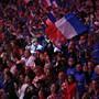 Ein Bild der Vergangenheit: Emotionen bei einem Davis-Cup-Final mit Heimfans (am Sonntag im französischen Lille)
