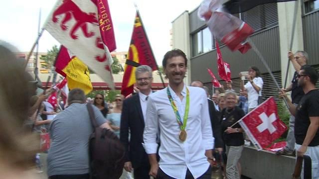 Letzter grosser Empfang für Cancellara
