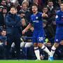 Chelsea-Trainer Frank Lampard (links) kann in der Winter-Transferperiode sein Kader wieder mit neuen Spielern ergänzen