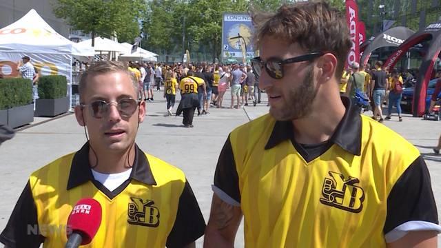 Berner Fans erwarten viel von ihrer Mannschaft