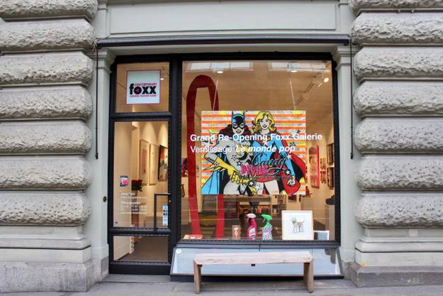 FOXX Galerie: Rämistrasse 33, 8001 Zürich