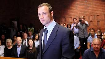 Oscar Pistorius während einer Gerichtsverhandlung.