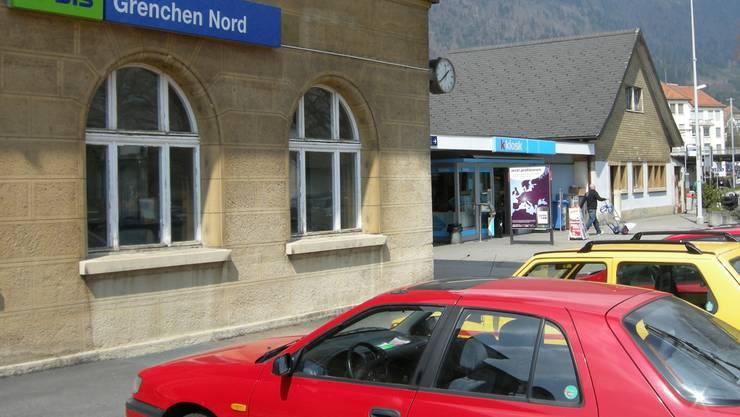 Der Kiosk am Bahnhof Grenchen Nord. Archivbild.