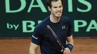 Die Briten gewinnen den Davis Cup.