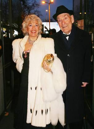Ljuba und Caspar Manz 2008.