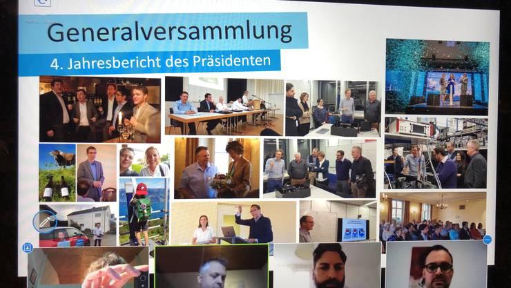 In den Genuss des Jahresberichts des Ortsparteipräsidenten Andreas Bärtsch kommt man zuhause am Comp