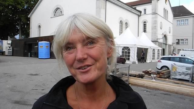 Liliane Herzog, visuelle Gestalterin und Standbauerin: «Wir freuen uns das ganze Jahr auf die HESO»