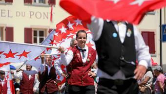 Der Sonntag am Jodelfest in Brig