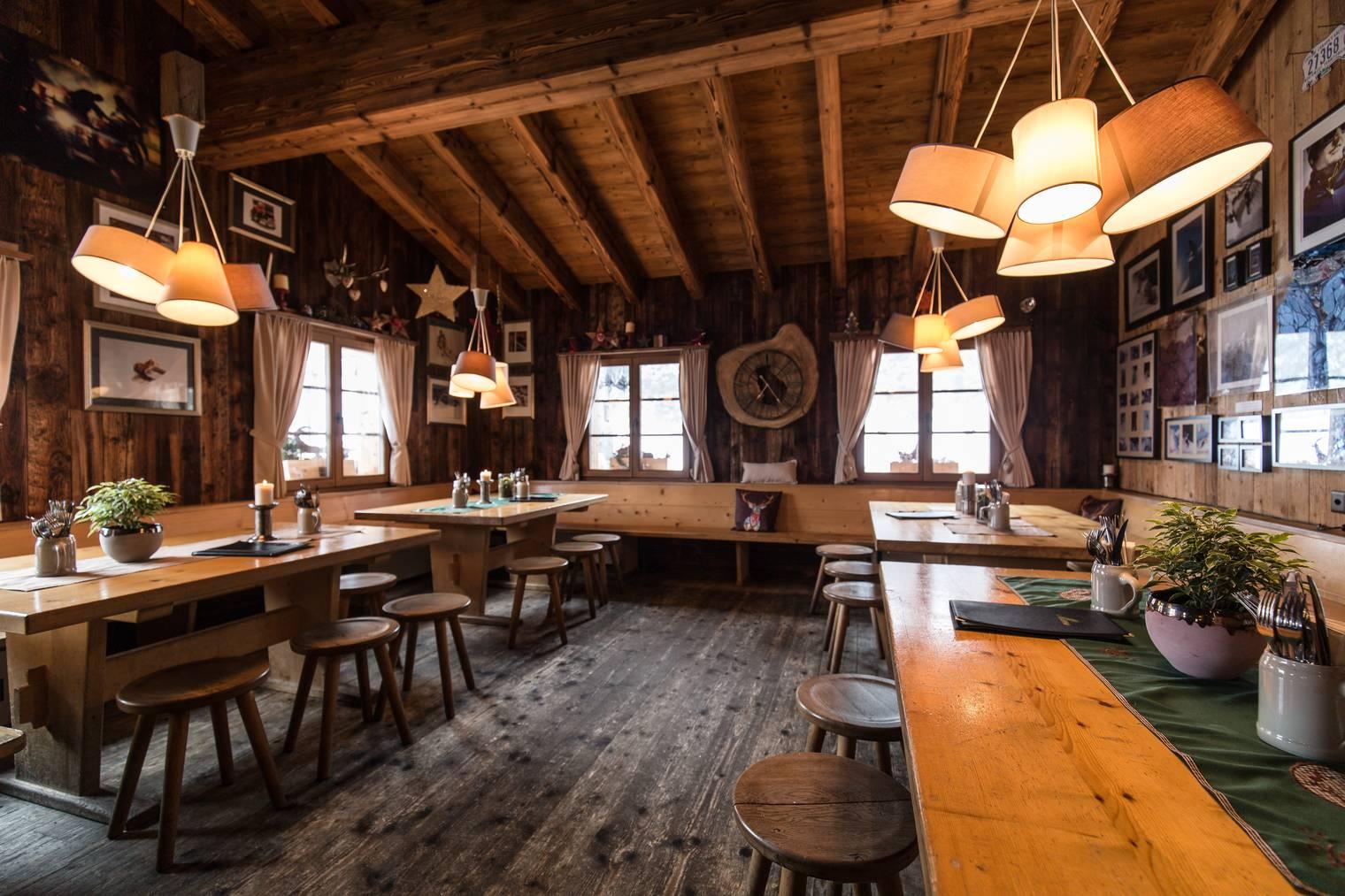 Das Bergrestaurant Avant Clavo wird erneuert.