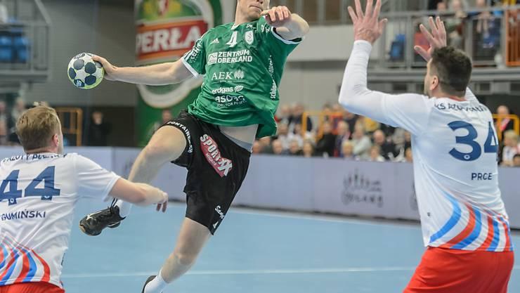 Lenny Rubin kehrt nach dem Abstecher in den EHF-Cup mit Wacker Thun erfolgreich in die NLA zurück