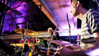 Remo Borner (rechts) und sein «Fusion Konsortium» spielten Songs ihres neuen Albums «Light Breaks Through».