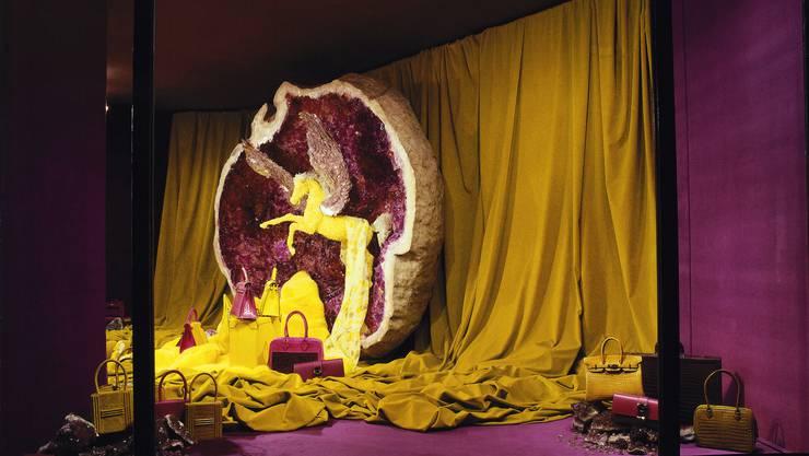 Dieses Schaufenster entstand im Jahr 2009 und ist in der neuen Ausstellung im Grand Palais in Paris zu sehen.