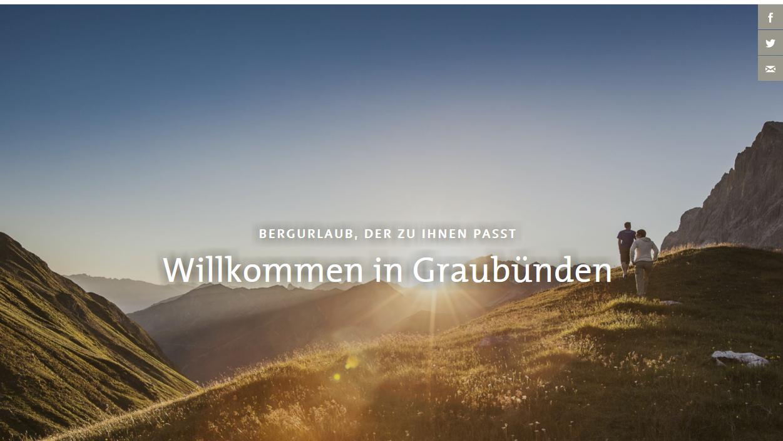 Die Bündner Webdesigner fühlen sich von Graubünden Ferien hintergangen.