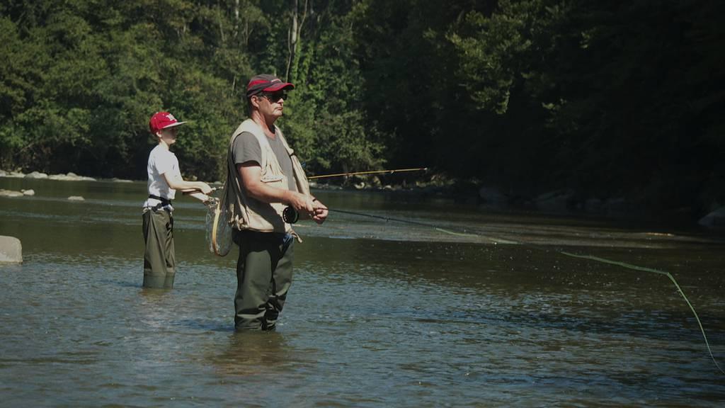 Mit der Flussbarbe auf Jungfischerfang