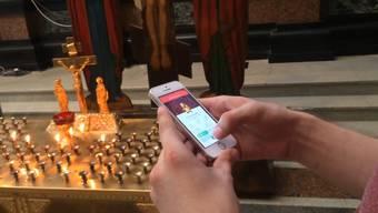 Ruslan Sokolowski in der Blut-Erlöser-Kathedrale in Jekaterinburg – mit dem Video habe er «religiöse Gefühle verletzt», hiess es in der Anklage.