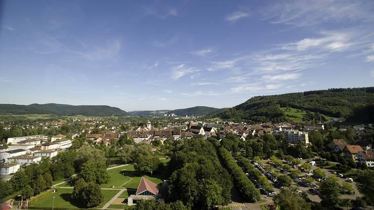 Bad Zurzach im Sommer.