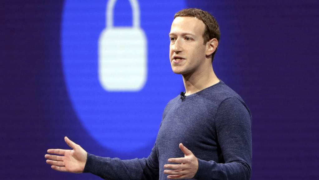 So sicher, wie es das Schloss suggeriert, waren die Daten nicht aufgehoben bei Facebook. (Archivbild)