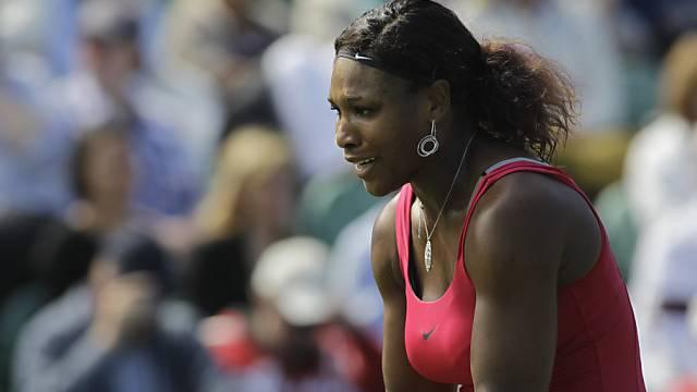 Für Serena Williams bedeuteten die Achtelfinals Endstation