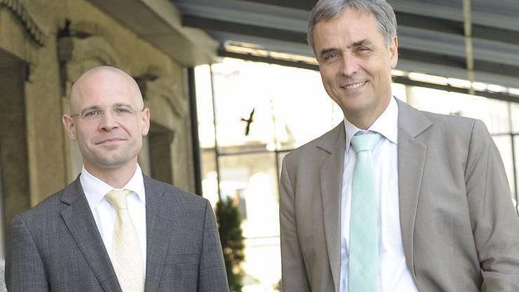 Gemeinsam ist ihnen nur Paris: Guy Morin und Baschi Dürr sind sich politisch wie auch privat über weniges einig