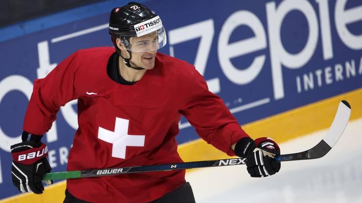 El Niño im Dress der Schweizer Nationalmannschaft.