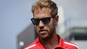 Sebastian Vettel war zum Auftakt ins Grand-Prix-Wochenende in Francorchamps der Schnellste