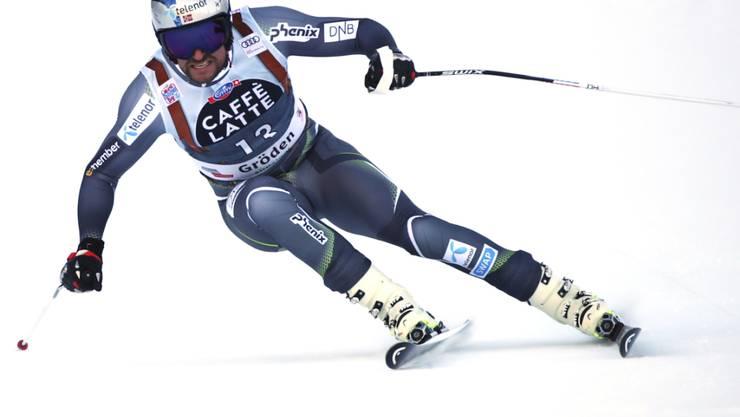 Aksel Svindal gewann den Super-G in Val Gardena zum bereits fünften Mal