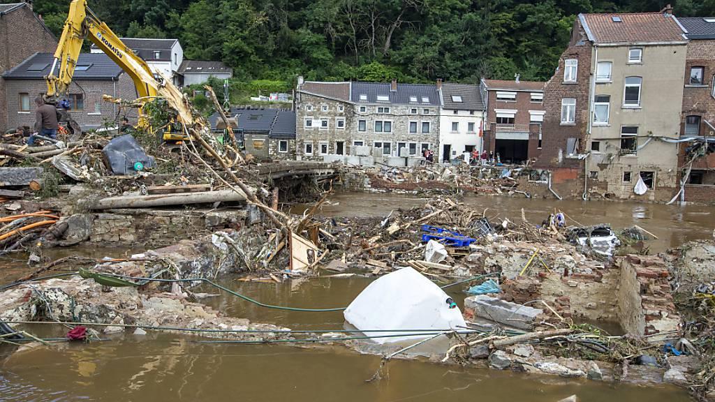 Zahl der Toten nach Überschwemmungen in Belgien steigt auf 27