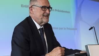 Bleibt zwei weitere Präsident des SFV: Peter Gilliéron