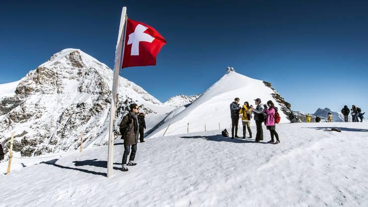 Zum fünften Mal besuchten über 1 Million Gäste das Jungfraujoch.