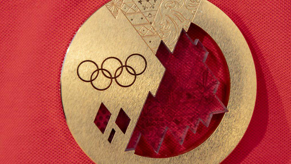 Das Objekt der Begierde: die Olympia-Goldmedaille von Sotschi 2014