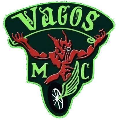 Loki, ein Gott aus der nordischen Mythologie ziert das Abzeichen der Vagos.