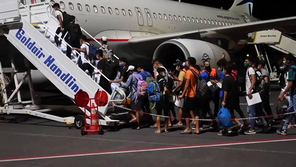 Athen bringt 400 Minderjährige aus Moria zum Festland