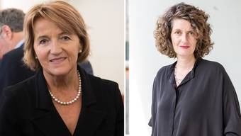 Renate Gautschy (links) greift Lelia Hunziker wegen Aussagen zur Einbürgerungspraxis an.
