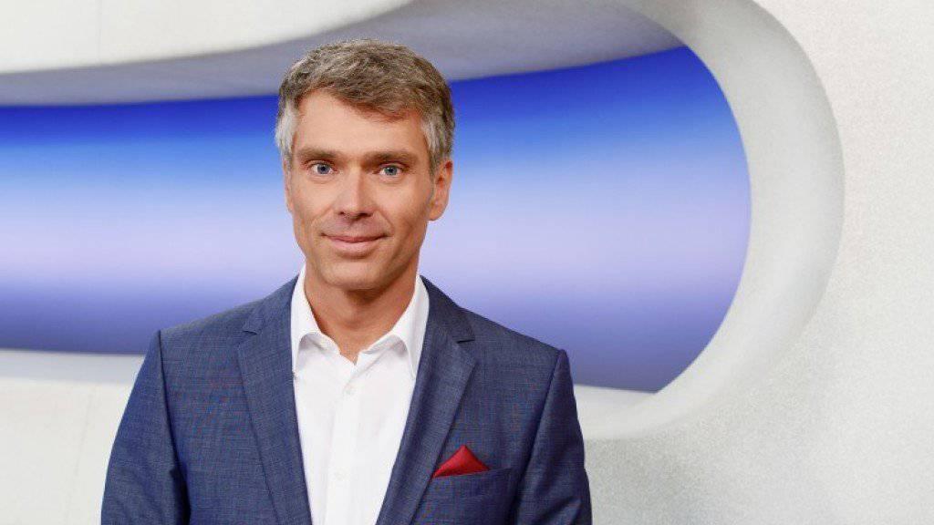 Hart im Nehmen, beruflich wie in der Freizeit: Moderator und Skater Sandro Brotz. (Bild SRF)