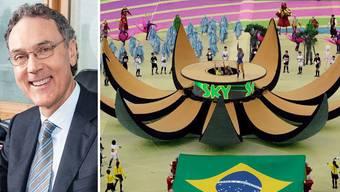 An der Eröffnungsfeier der WM gab es laut SRF-Sportchef Urs Leutert grosse technische Probleme, wofür das SRF aber nichts konnte - jedoch auch selber nichts dagegen machen konnte.