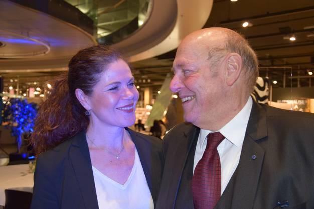Roberta Baumann und Ueli Giezendanner heiraten im Juli im Tessin.