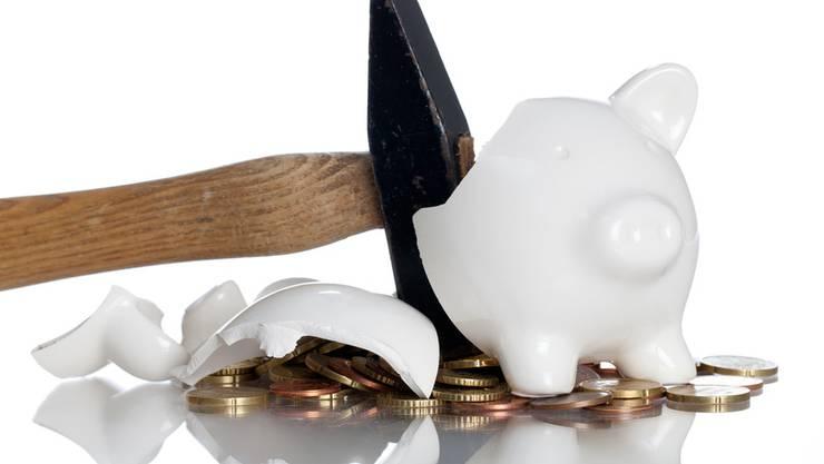 Sparmassnahmen tun weh – einige hat der Grosse Rat abgesegnet. (Symbolbild)