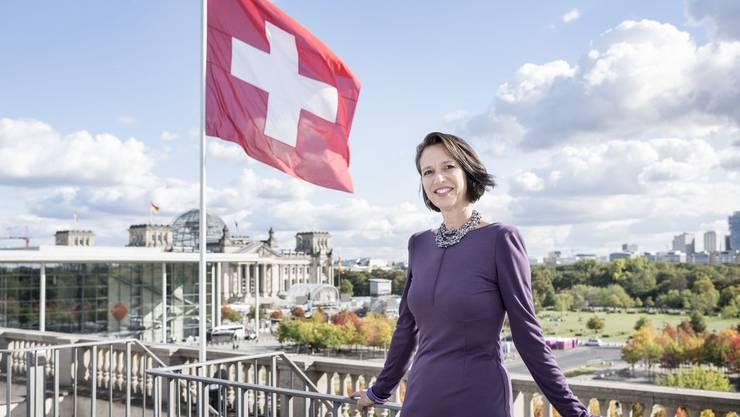 Schweizer Botschafterin in Berlin: Christine Schraner Burgener.